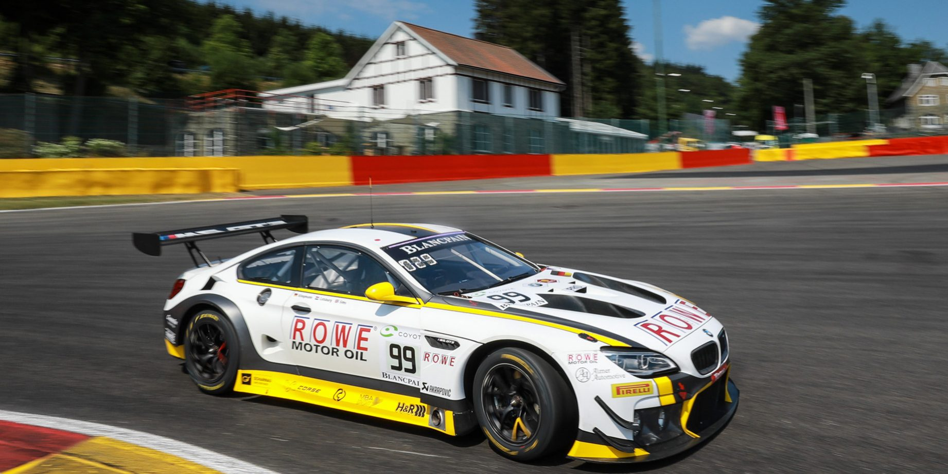 Rowe Racing To Start The 70th Edition Of The 24 Hours Of Spa From
