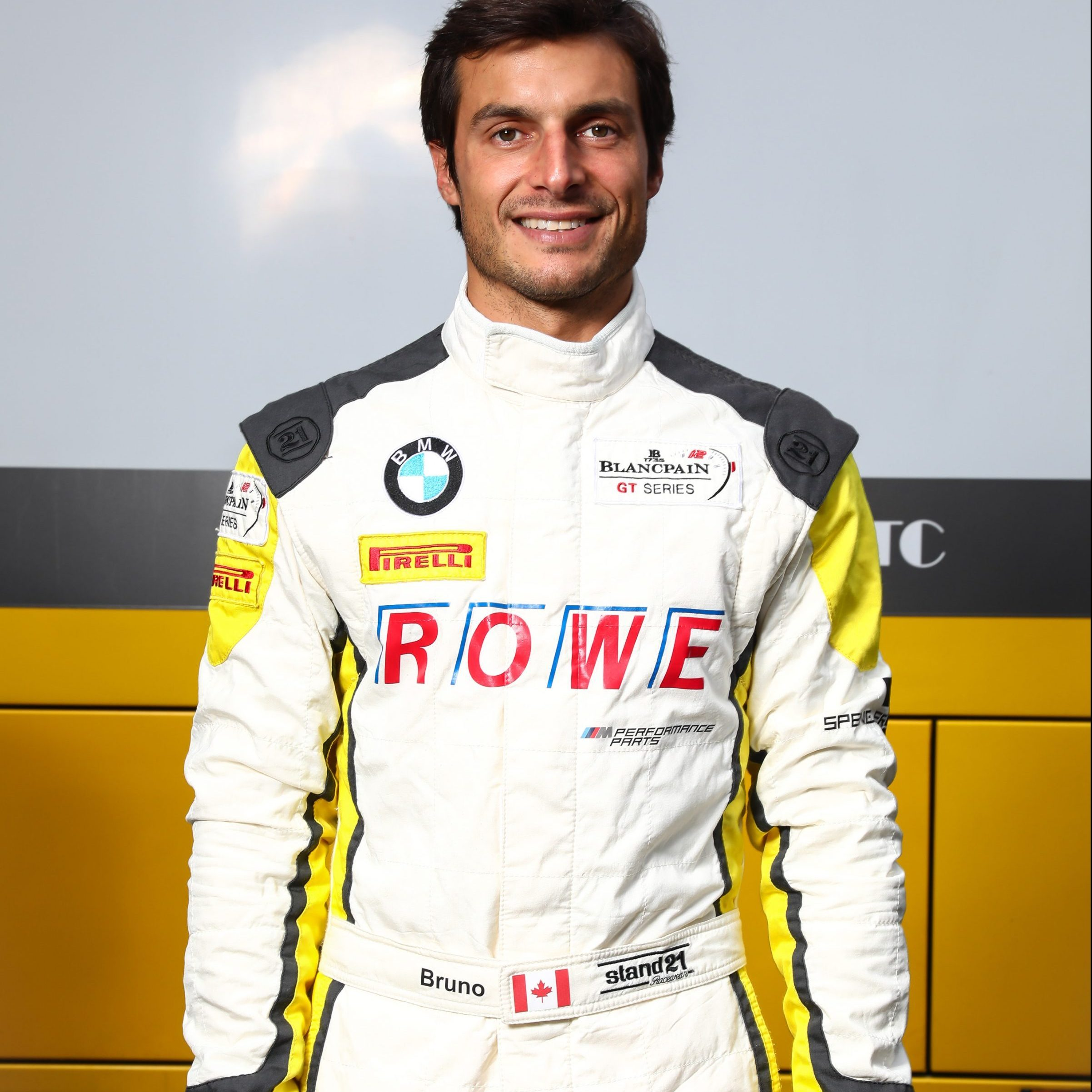 Bruno Spengler 24h Spa Test 17